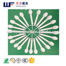 injection molding companies manufacturing 20 cavity plastic spoon mould/spoon mold/plastic spoon molding made in Taizhou