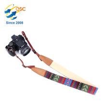 2017 benutzerdefinierte Einstellbare Slide Kamera Strap mit Lederenden