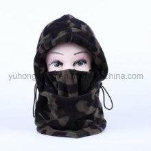Long Winter Warm Knitted Polar Fleece Hat/Cap