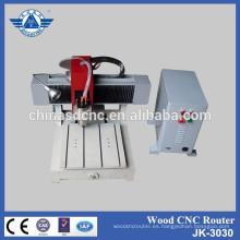 Máquina de grabado del cnc mini Jinan máquina fábrica venta caliente con precio económico
