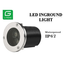 Low voltage landscape lighting waterproof IP67 outdoor led inground light made in china