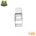 Zinc 2 Inch Heavy Duty Stainless Overcenter Buckle