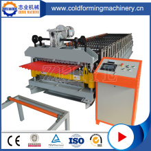 IBR Double Decker Roof Tiles Roll Forming Machines