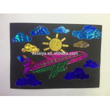 Удивительный лист фольги передачи живописи для детей