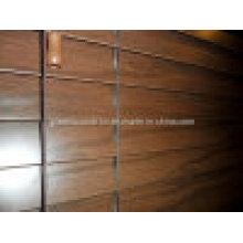Obturador de madera de imitación / persianas venecianas