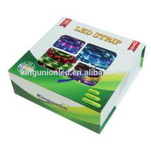 Kingunion Novo Blister Pacote RGB5050 LED Flexível Strip Light
