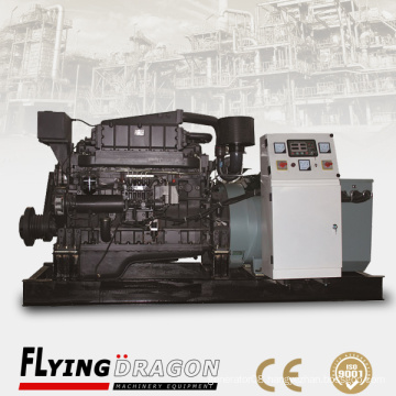 200kw 250kva Shangchai marine engine generator diesel powered by Shanghai Dongfeng engine G128ZLCaf2 with marine class
