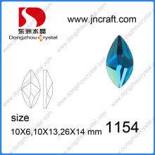 Factory Wholesale Peridot Glass Stones pour bijoux en ornement