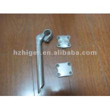 aluminio a presión fundición de piezas de bicicleta, parte de aluminio