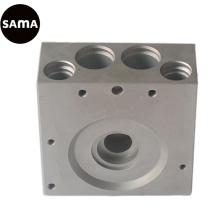 Fundição em Alumínio para Corpo de Válvula Pneumática com Usinagem de Precisão
