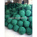 Artificial boxwood topiary grass ball