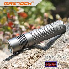Maxtoch HI6X-19 lanterna luz brilhante alumínio recarregável