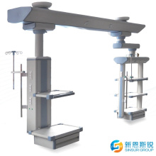 Ceiling Fixed Rotary Surgical ICU Wet and Dry Medical Pendant