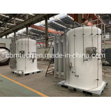 Micro Bulk Liquid Cryogenic Gas Tanks with Pressure Built Systems