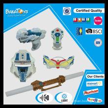 Ensemble d'arme à jouet pour enfant en plastique avec masque et épée