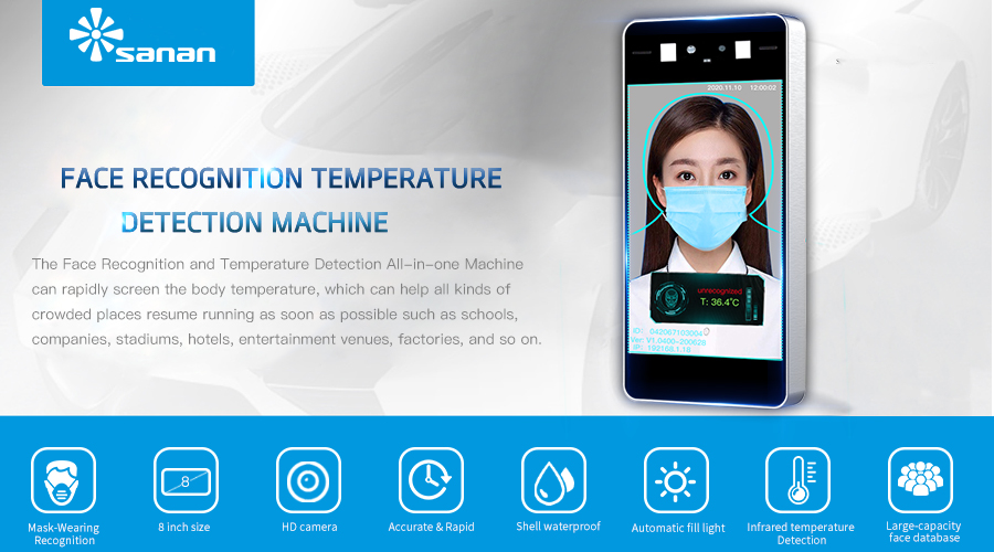 Face Recognition Thermometer