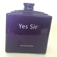 Bouteille de parfum élégante de conception de mode adaptée aux besoins du client