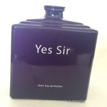 Garrafa de perfume elegante personalizada do projeto da forma