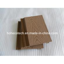 Painel de parede plástico de madeira sintético exterior do composto WPC / revestimento (156S21)