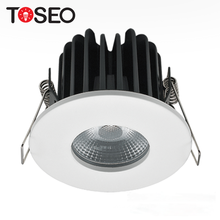 Cut out 6.8cm 10w fireproof led recessed cob downlights bathroom ip65 fire-rated downlight