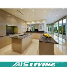 Quartzo artificial com mobília do armário da cozinha do dissipador (AIS-K374)