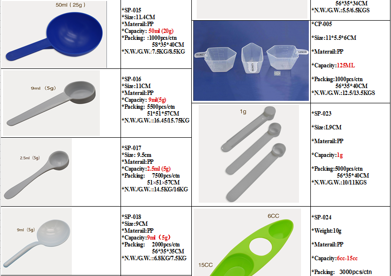 Kitchen Plastic Spoon Injection Mould