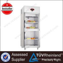 Kitchen Appliance Marques de réfrigérateurs commerciaux luxueux
