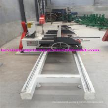 Máquina de corte de serras circulares deslizantes de madeira de lâminas duplas