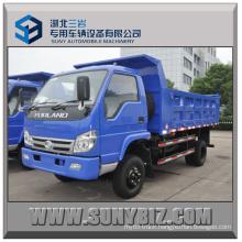 5t 6t 7t Foton 4X2 Rhd Small Dump Truck