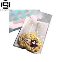 Небольшой opp подарок сумки для печенье упаковка самоклеящиеся типа