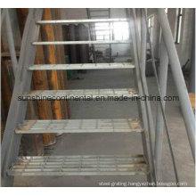 Hot Dipped Galvanized Platform Steel Stair