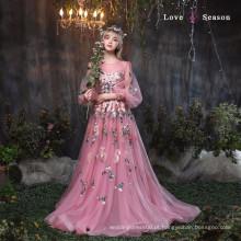 XXLF182 senhoras modelo novo vestido e senhoras moda rendas vestidos projetos renda bordado rendas para vestido nupcial