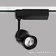 20W Equipo de iluminación LED con ahorro de energía Luz LED Track Tipo COB LED Track Spot Light
