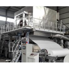 Máquina para fabricação de lenços de papel higiénico