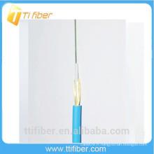 Câble fibre optique externe 6 core avec élément de résistance au fil d'aramide et veste LSZH