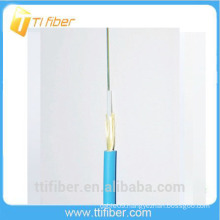 6 core outdoor fiber optic cable with aramid yarn strength member and LSZH jacket
