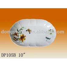 "10"" Strengthen porcelain plate"