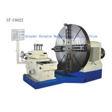 Metal Working Facing Lathe Machine For Processing Shaft , Cross-feed 1150mm
