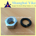 Top quality nuts bolt washer with grade 8.8 and black surface and cooper washer