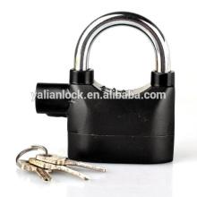 Candado de alarma de alta seguridad, sirena de alarma latón de plástico cubierta de la función de candado, pesado resistente al agua cerradura puerta barata