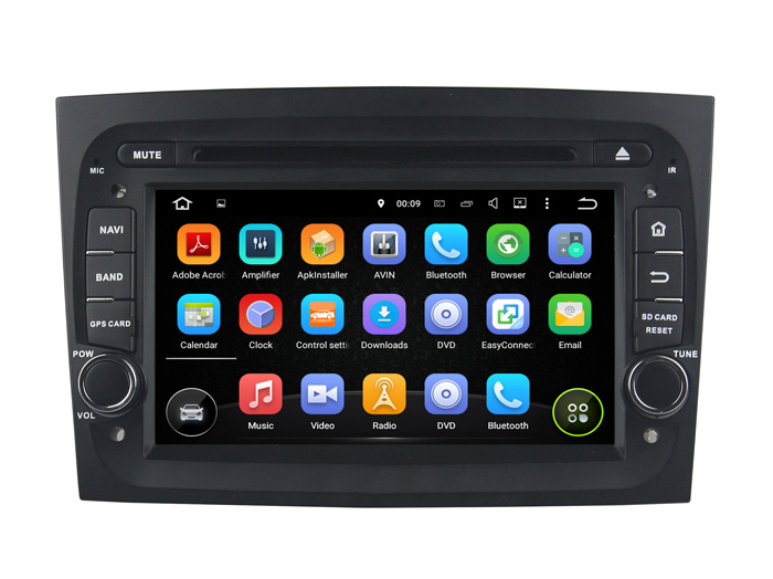 HD Screen Car audio Player for DOBLO 2016