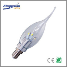Kingunion Longeviy Led Candle Light Series With Less Power Consumption CE&RoHS Certificate