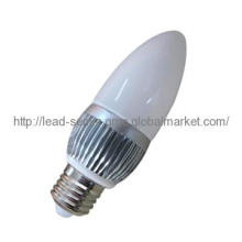 LED Bulb Candle Lamp 45x130mm, 3x1W