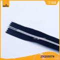 No.3 plateado dientes de plata Nylon Zipper ZN20006