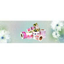 Étiquette de bouteille de produits de soins de beauté imperméables personnalisés