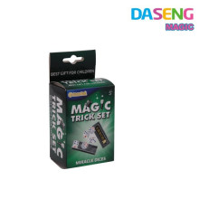 magic dice magic trick props plastic magic toys