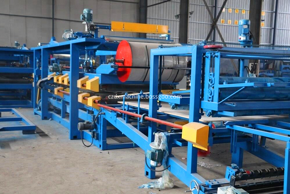 Eps Sandwich Steel Sheet Roof Machines