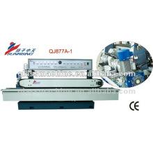 QJ877A-1 alta precisión 11 Sspindle vidrio rectificadora con 11 ruedas
