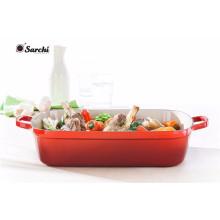 Gusseisen-Bratschale-Wanne-Ofen zum Tabellen-Teller