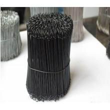Alambre de lazo en lazo doble / alambre de lazo de la barra / alambre de lazo recocido negro